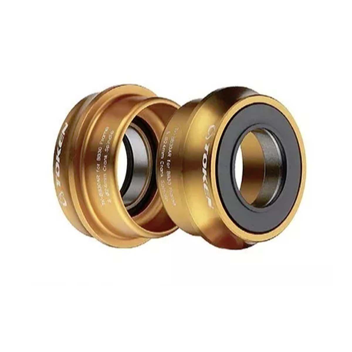 Movimento Central Token Bb30ar Sram / Truvativ 22-24mm Gold