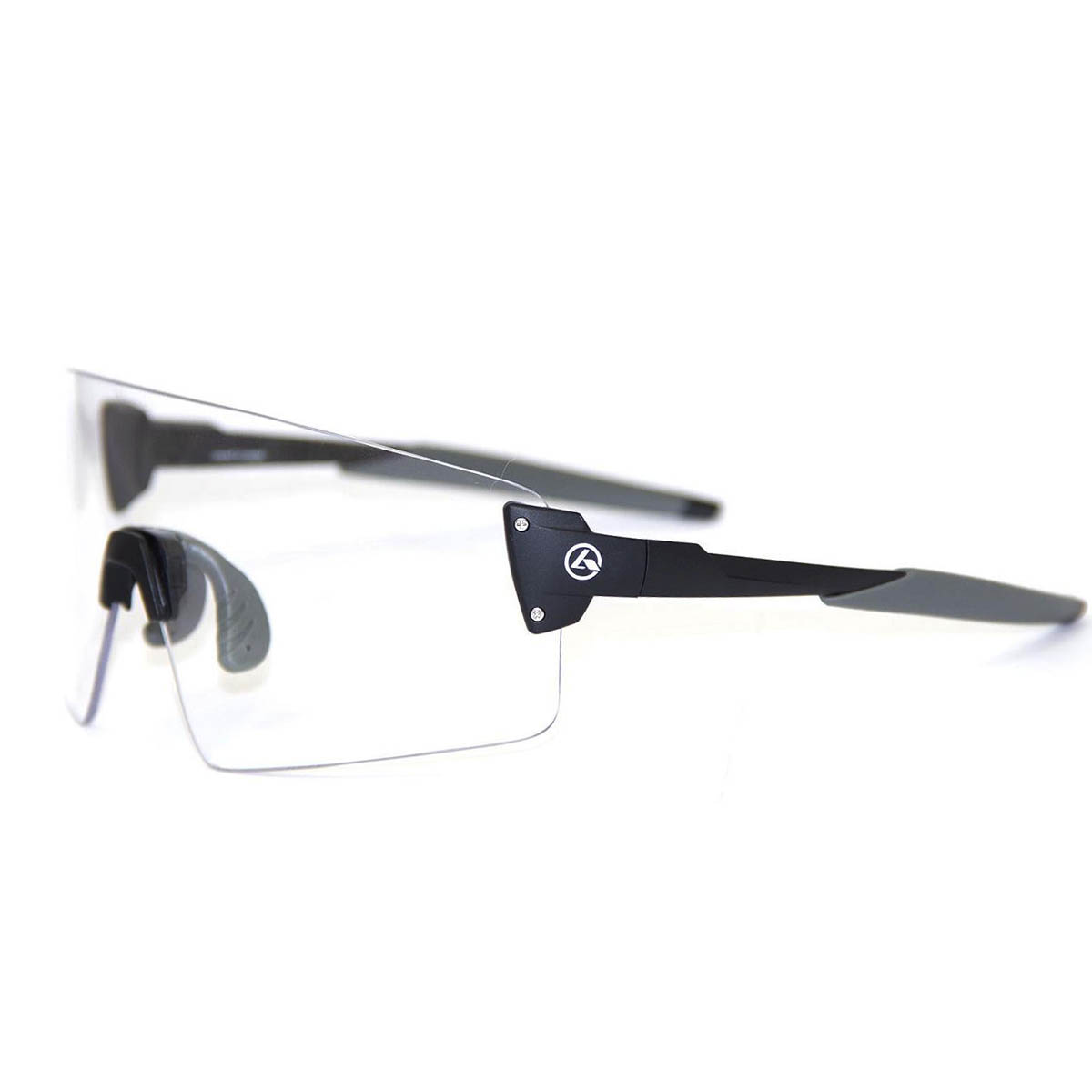 Óculos Ciclismo Absolute Prime EX Preto/Cinza Lente Transparente - CICLES  ELITON