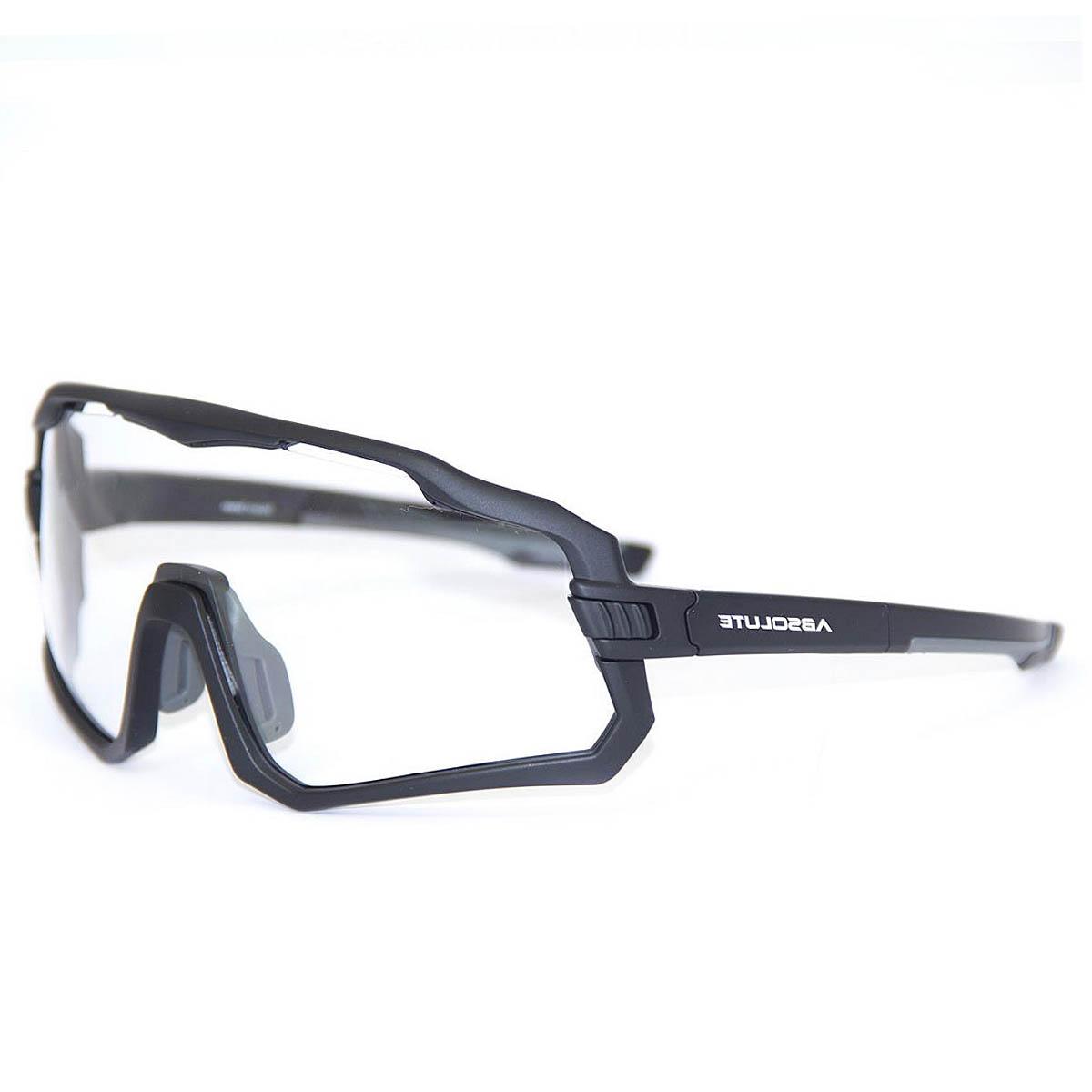Óculos Ciclismo Absolute Wild Preto Lente Transparente - CICLES ELITON