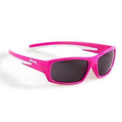 Óculos Ciclismo Spiuk Bungy Lente Fumê C/ Armação Rosa Kids