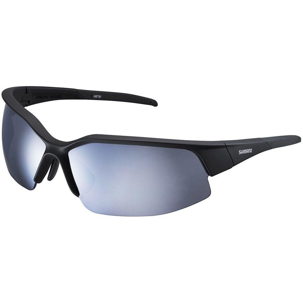 Óculos De Ciclismo Shimano S51r 2 Lentes Preto Fosco