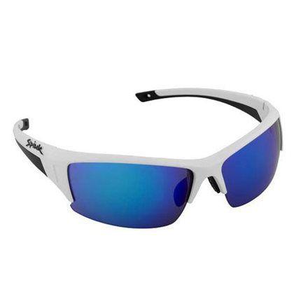 Óculos Spiuk Binomio Lente Azul Espelhada Armação Branco/pto