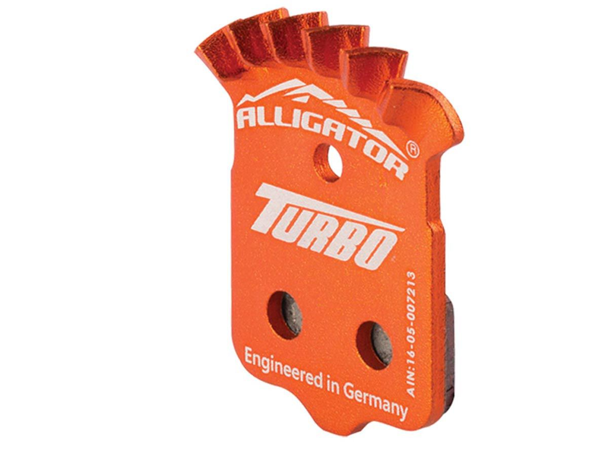 Pastilha Alligator Turbo Semi-Met Para Avid/Sram Level Elix