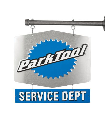 Placa Park Tool Sds-1 Service Department Alumínio Azul