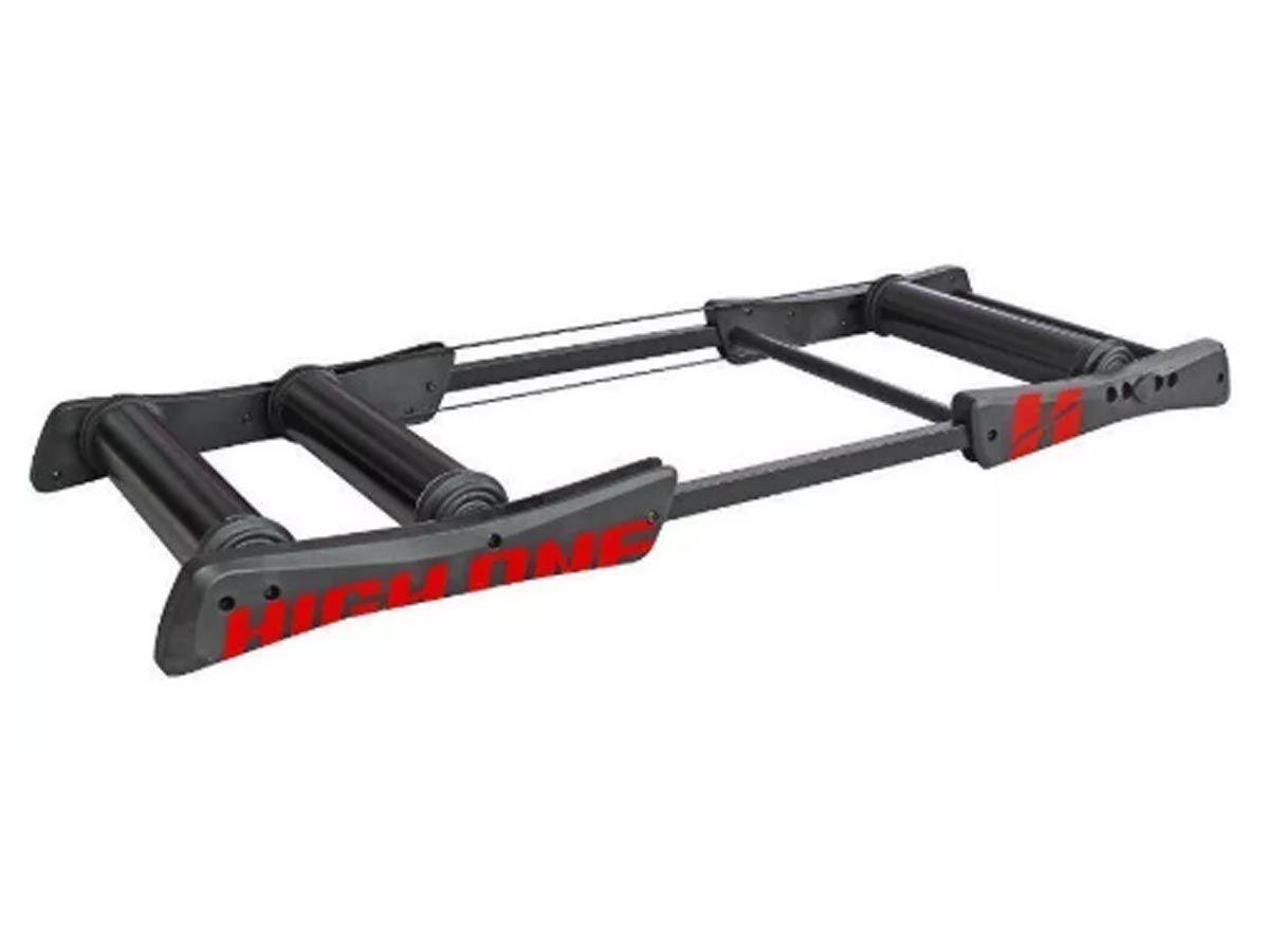 Rolo High One Livre De Treinamento Alumínio Preto Horol0003