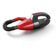 Aspirador de Pó Automotivo Multilaser 1500pa 12v 60w Funcao Solido e Liquido Com Mangueira - Vermelho AU607