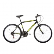 Bicicleta Aro 26 Houston Foxer Hammer com 21 Marchas Preta FX26H3R