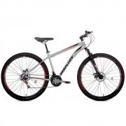 Bicicleta Houston Discovery 2.9 Aro-29 Prata 21 Marchas com Freio a Disco DSN291R