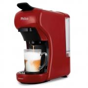 Cafeteira Expresso Philco Multicápsula 3 em 1 PCF19VP Vermelha 127V