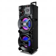 Caixa Amplificada Amvox ACA 1005 Titan 1000w RMS Auto falante Potente Torre de Som