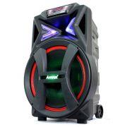 Caixa Amplificadora Amvox 500W Rms Bluetooth Usb Fm Aca501 New