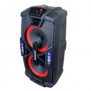Caixa Amplificadora Amvox 750W Rms Bluetooth Usb ACA 757 X