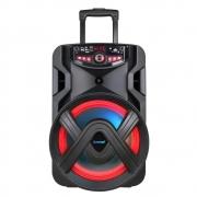 Caixa de Som Amplificada ACA 401 Tsunami 400W com Bluetooth e USB Preto - Bivolt