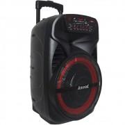 Caixa de Som Amplificada Amvox ACA 280 Black 280w Bluetooth, USB, Radio FM, Micro SD, Bateria Interna