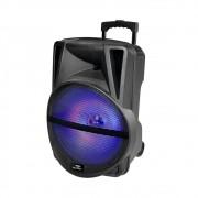 Caixa de Som Amplificada Sumay Primus 500w Led Controle Remoto Bluetooth
