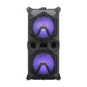 Caixa de Som Amplificada Sumay TAURUS 440BT com Microfone e Bateria Interna