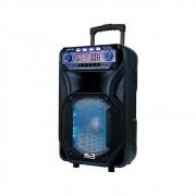 Caixa de Som Amplificada Sumay Thunder Black 800w Bluetooth c/ Microfone e Controle Remoto