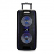 Caixa de Som Amplificada Sumay Titan 600w Bluetooth c/ Microfone e Controle Remoto
