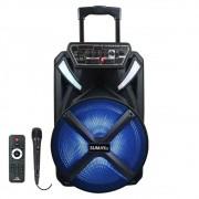 Caixa de Som Amplificada Sumay X-Prime - 300w Bluetooth, Bateria Interna, Microfone com Fio
