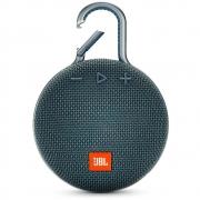 Caixa de Som JBL Bluetooth Clip 3 à Prova d'Água Azul