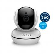 Camera de Seguranca Wi-fi Rotacional com Inteligencia de Video Full Hd Esc-wr3f
