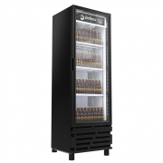 Cervejeira Expositor Imbera 450L Porta de Vidro CCV315 Preta 110v