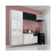 Cozinha Compacta Itatiaia Amanda 4 peças - 10 Portas 1 Gaveta Aço