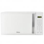 Forno de micro-ondas philco pmo21b com teclas fáceis branco 21l 127v