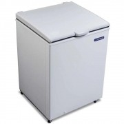 Freezer e Refrigerador Horizontal (Dupla Ação) 1 tampa 166 litros DA170 Metalfrio 220V Branco