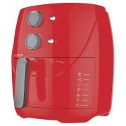 Fritadeira Sem Óleo 3,2L Cadence Super Light Fryer Colors Vermelha