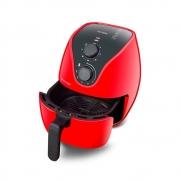 Fritadeira Elétrica Air Fryer 4 Litros Multilaser 127V Vermelha - CE083