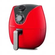 Fritadeira Elétrica Air Fryer 4 Litros Multilaser 220v Vermelha - Ce084