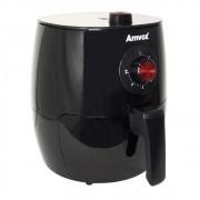 Fritadeira Elétrica / AirFryer Amvox Sem óleo ARF 1201 Preto 3.5L 1270W 110V