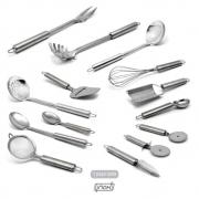 Kit de Utensílios Inox 14 Peças Mestre Cuca - Gourmet Mix