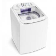 Lavadora Electrolux LAC16 com Dispenser Autolimpante e Ciclo Silencioso 16Kg Branca 127v