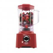 Liquidificador Arno Power Max 700 Limpa Fácil LN61 com 5 Velocidades 700W ? Vermelho - 127v