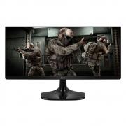 Monitor Gamer LG LED 25 Full HD HDMI UltraWide IPS 75Hz 1ms Preto 25UM58Gg
