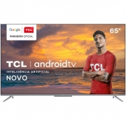 Smart TV 4K UHD LED 65? TCL 65P715 Android Wi-Fi - Bluetooth 3 HDMI 2 USB