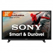 Smart TV LED 32 Sony KDL32W655D/Z Full HD Wi-Fi HDR 2 HDMI 2 USB