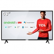 Smart TV LED 43 SEMP TCL 43S6500 Full HD Android Wi-Fi 2 HDMI 1 USB