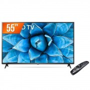 Smart TV LED 55'' 4K UHD LG 55UN731C 3 HDMI 2 USB Wi-Fi Assitente Virtual Bluetooth