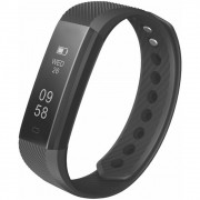 Smartband Pulseira Inteligente Easy Mobile - SMARTFIT2HR Monitor Cardíaco Preta