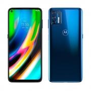 Smartphone Motorola Xt2087 Moto G9 Plus Azul Índigo 128gb Tela 6.8