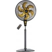 Ventilador de Coluna Air Timer Preto e Dourado 220v