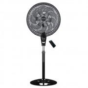 Ventilador de Coluna Mallory Neo Air 15 Air Timer 40cm com 15 Pás, 140W, Controle Remoto, Preto/Grafite 220V