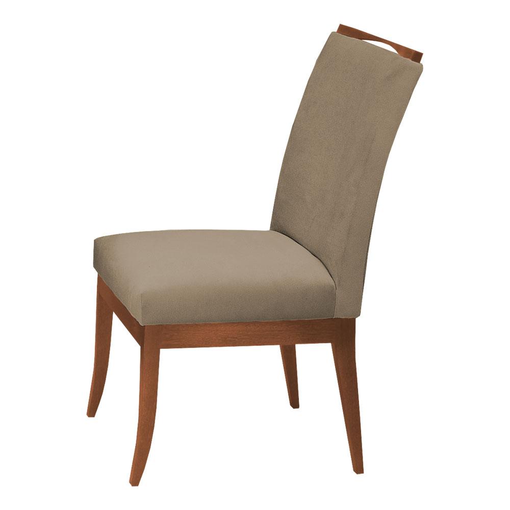 Conjunto Mesa Jade 1,04 m Preto + 4 Cadeiras Lana Aveludado Nude