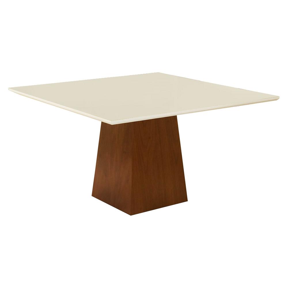Mesa para Sala de Jantar Luiza 1,50 m Off White - Rimac