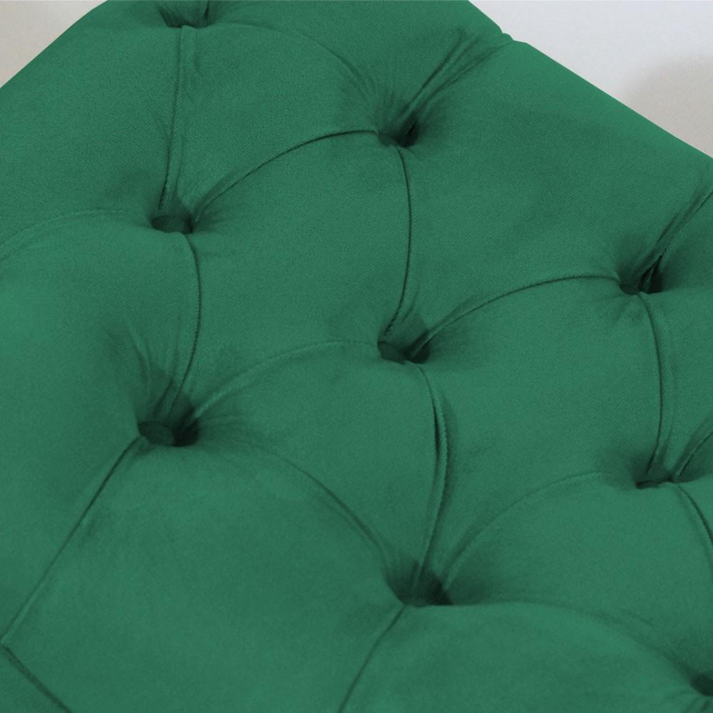 Recamier Persa Decorativo Quarto Suede Verde Bandeira