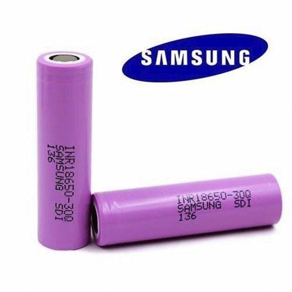 Bateria Samsung 30Q 3000mAh 18650 Li-ion
