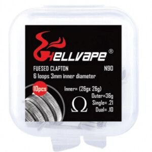 Fused Clapton NI90 by HellVape